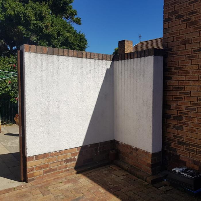 Brick Wall Before