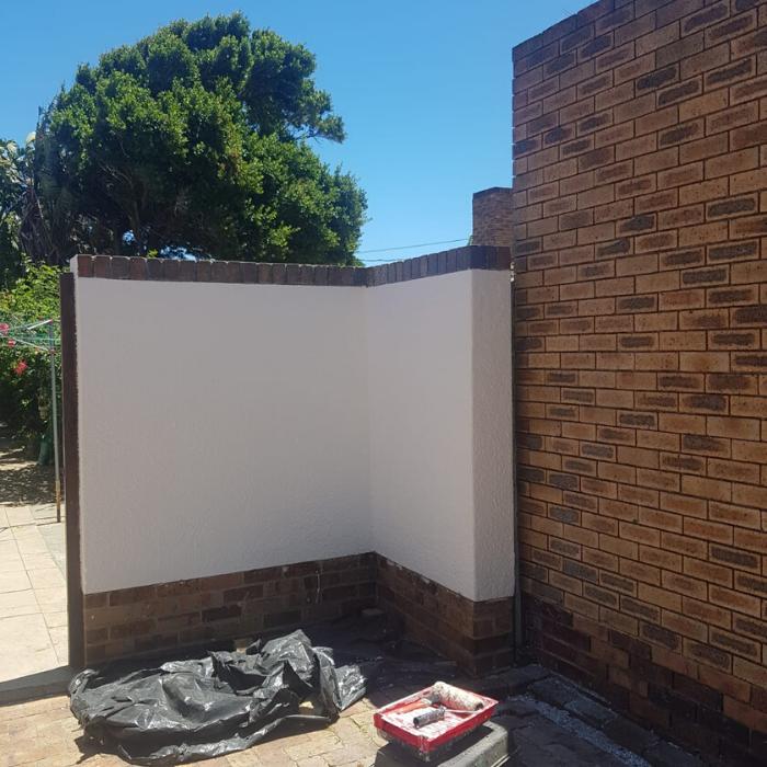Brick Wall  After